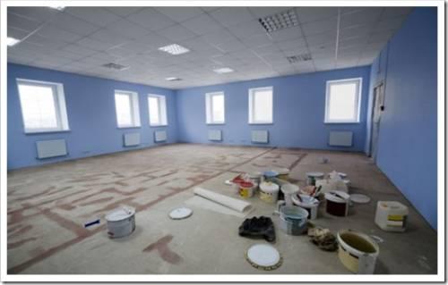Основные этапы выполнения офисного ремонта