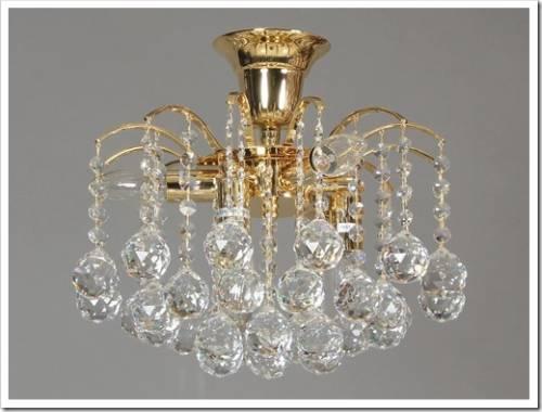 Хрустальные люстры в стиле модерн