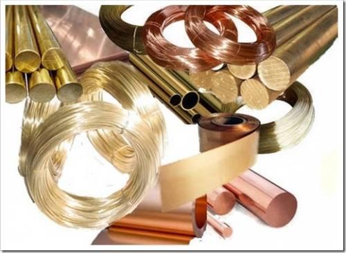 Цветной металлопрокат: виды и характеристики