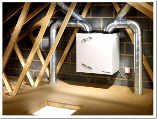Приточно-вытяжная вентиляция с рекуперацией - что это и где применяется?