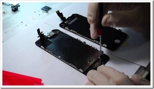 Как поменять экран iPhone 5s