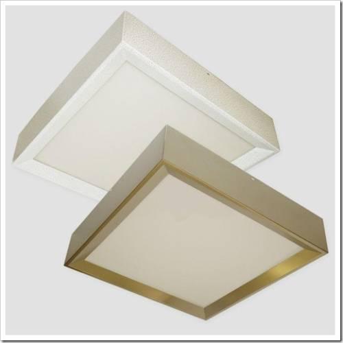 Классификация потолочных светильников по способу монтажа