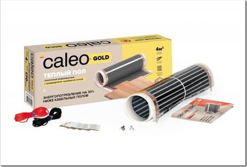 Дополнительный обогрев в квартире с помощью инфракрасного теплого пола Сaleo Gold