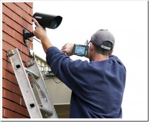 Выбор и монтаж системы видеонаблюдения в доме