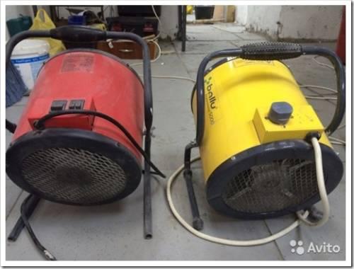 Газовые и водяные тепловые пушки