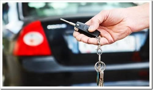 Классическая схема получения автомобиля в прокат