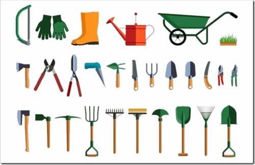 Самые важные инструменты для проведения садовых работ