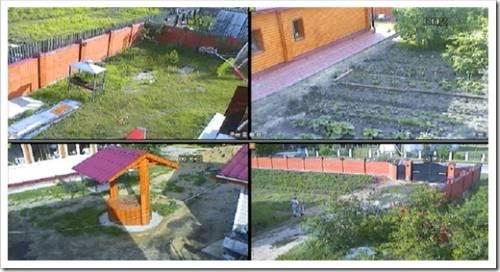 Технология монтажа видеонаблюдения на даче