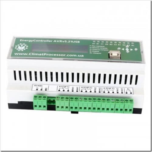 Контроллер АВР EnergyController AVR v5.21: описание и сфера применения