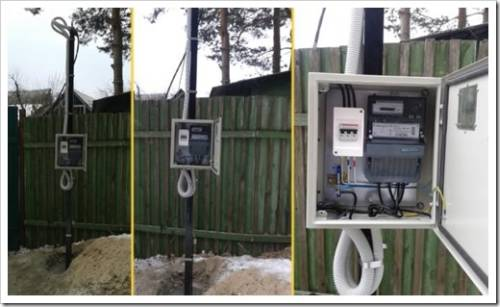 Технология подключения электричества к участкам и домам