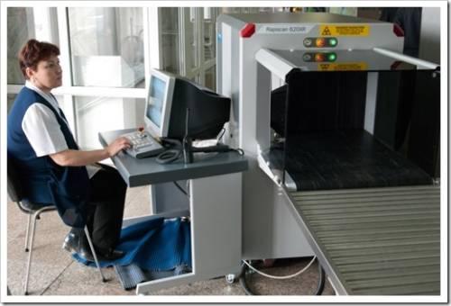 Виды досмотрового оборудования для аэропотров, КПП
