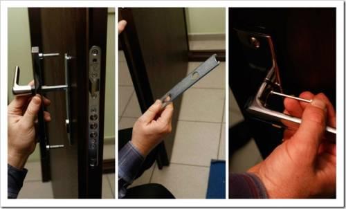 Как заменить дверной замок в металлической двери