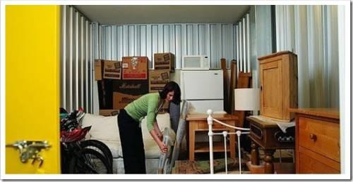 Где можно хранить мебель во время ремонта