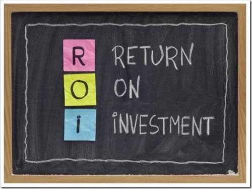 Какова формула ROI?