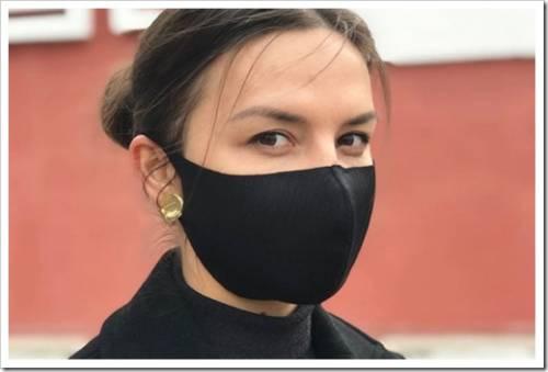Как правильно носить маску для лица из неопрена?