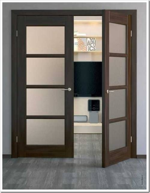 Двустворчатые межкомнатные двери: характеристики и когда уместно их использовать