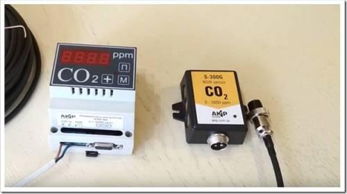Датчики СО2 для теплиц