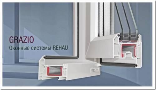 Технические особенности окон Rehau Grazio 70 мм