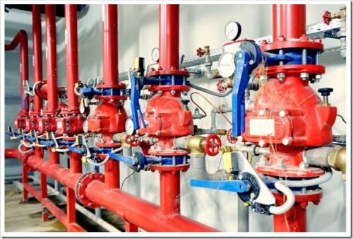 Что входит в обслуживание установок автоматического водяного пожаротушения