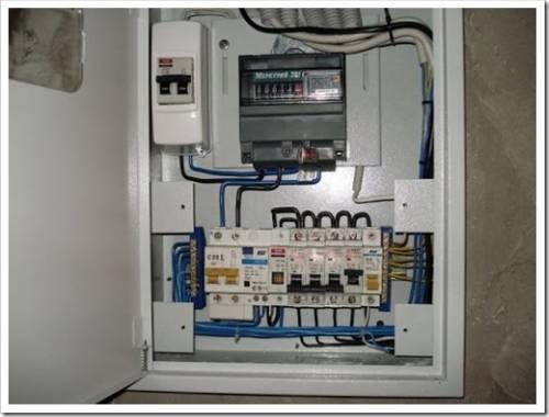 Что подразумевается под организацией электропроводки в быту?