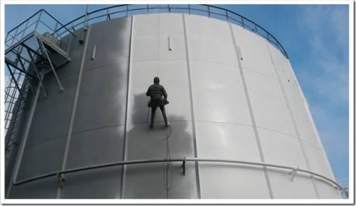 Как делается антикоррозийная защита металлоконструкций и резервуаров
