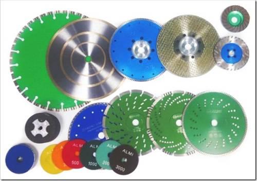 Какие есть виды алмазных дисков