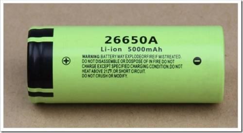 Аккумулятор 26650 - характеристики и какой выбрать