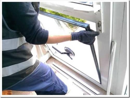 Технология замены разбитого стеклопакета в окне