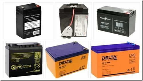 Как выбрать аккумуляторы для UPS