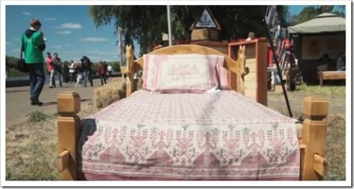 Царская кровать из соломы - что это