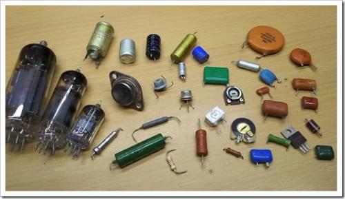 Виды радиодеталей и электронных компонентов и их предназначение