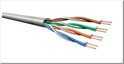 Что такое кабель витая пара и какие есть её виды по степени из защиты от помех