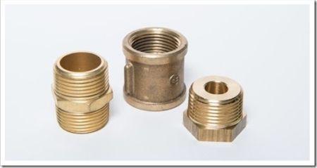 Распространенные фитинги для металлических трубопроводов