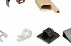 Какие есть виды крепежа для электропроводки