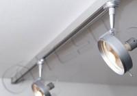 Трековые системы освещения для торговых помещений и квартир