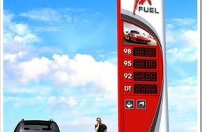 Технология изготовления рекламных стелл для автозаправок