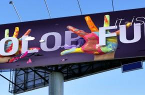 Виды баннеров в наружной рекламе