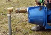 Подключение насоса для канализации дачного дома