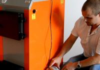 Как с помощью вентилятора повысить КПД твердотопливного котла