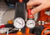 Как отрегулировать давление на компрессоре