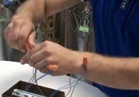 Как подключить люстру к двойному выключателю?
