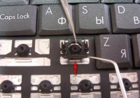 Как разобрать клавиатуру на ноутбуке?