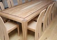 Виды деревянных обеденных столов