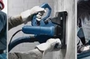Технология штробления под электропроводку без пыли