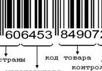 Какую информацию несет в себе штрих код
