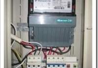 Как подключить электросчетчик и автоматы?