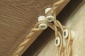 Как крепить ретро проводку без провисов