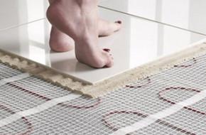 Как выбрать электрический теплый пол под плитку