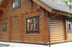 Деревянный дом для экономии и здоровья