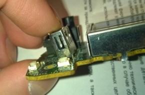 Как припаять USB разъем?
